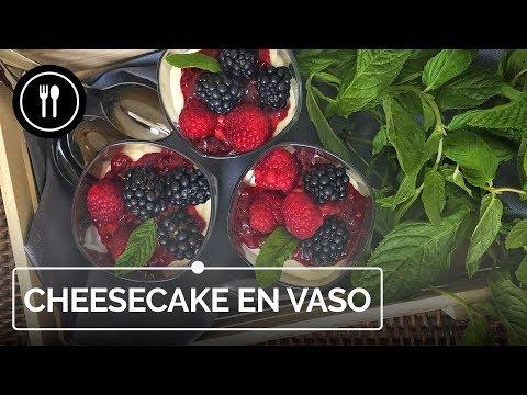 Cheesecake en vasito sin horno: receta fácil y rápida | Instafood