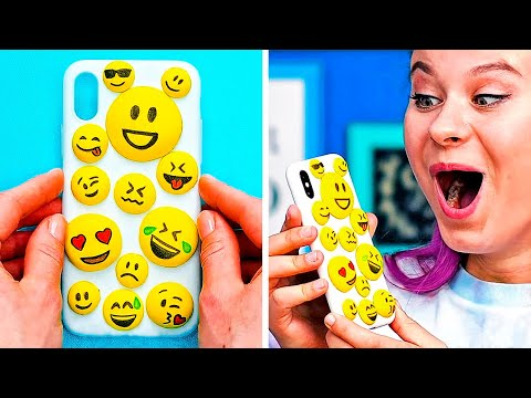25 EASY YET BRILLIANT DIY PHONE CASES