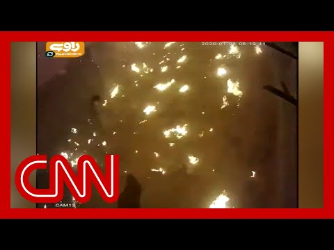 New video shows moment Ukrainian plane crashes in Iran