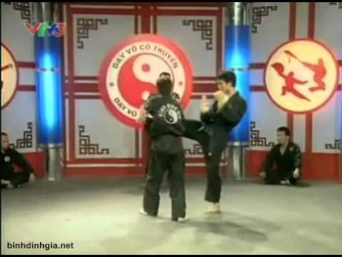 Dạy võ cổ truyền trên VTV 3