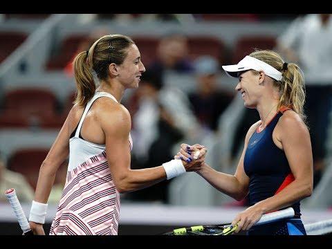 Caroline Wozniacki vs. Petra Martic   2018 China Open Second Round   WTA Highlights