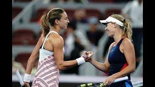 Caroline Wozniacki vs. Petra Martic | 2018 China Open Second Round | WTA Highlights