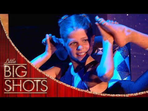 Young Contortionist Sends The Crowd Wild! | Little Big Shots