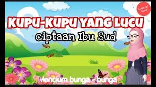 kupu kupu yang lucu | lagu anak Indonesia