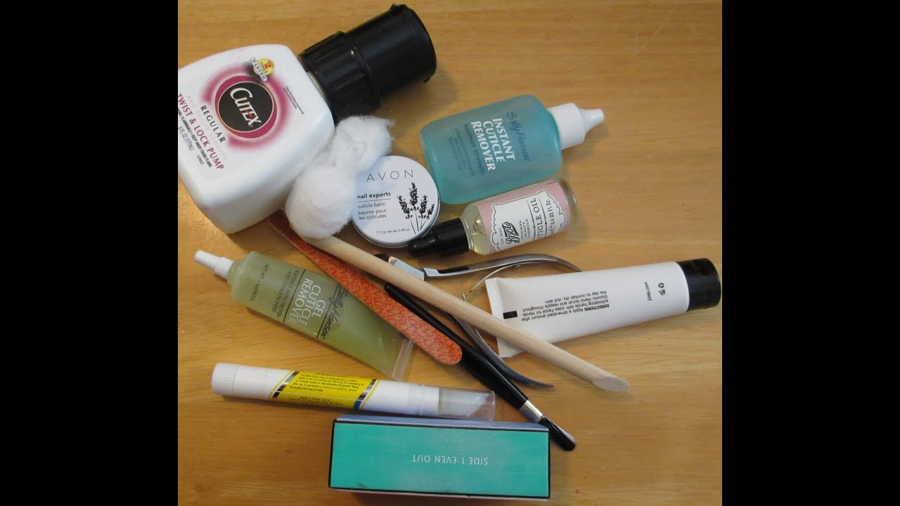 From Nasty To Nice- My At Home Nail Care Routine