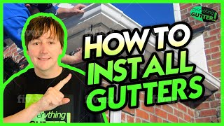 How to Install Aluminum Rain Gutters Part 2