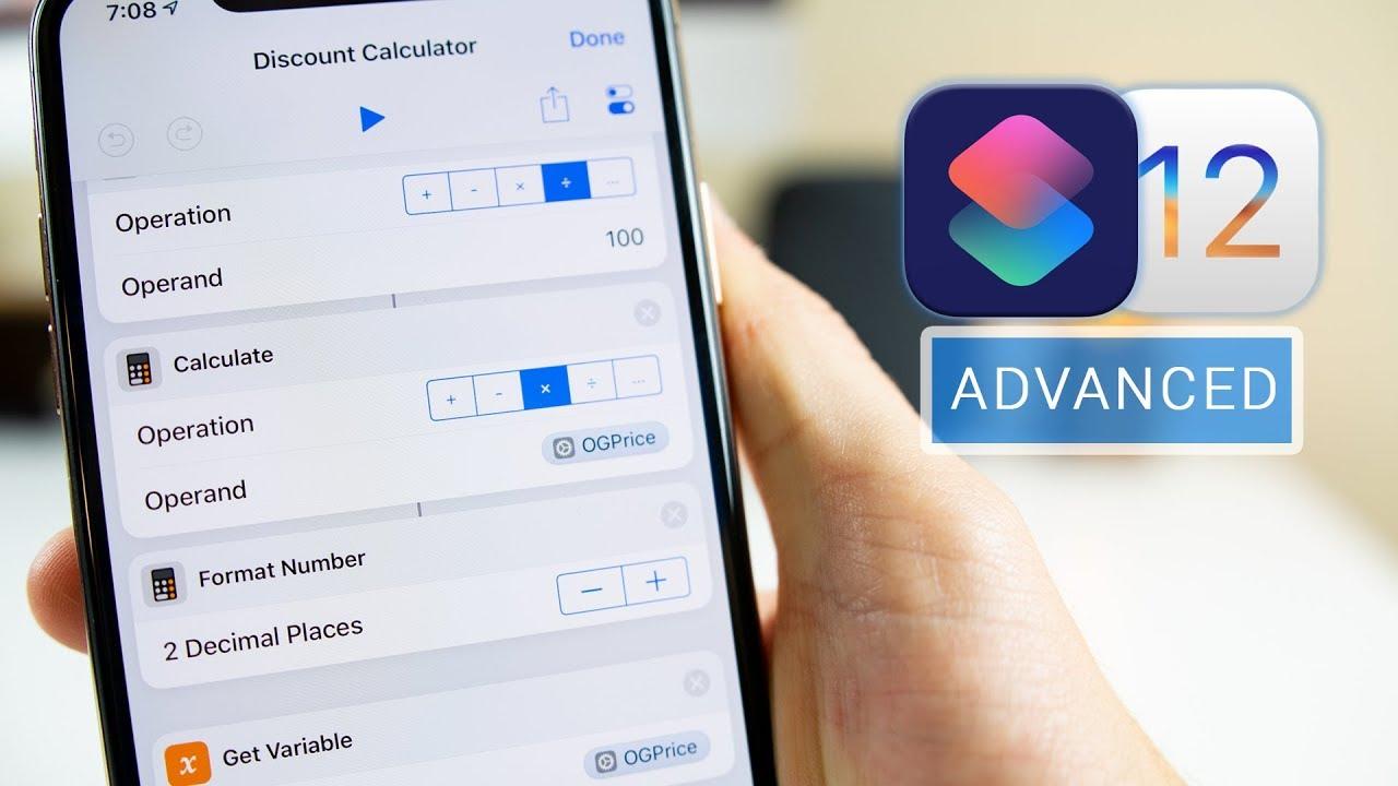 iOS 12 Shortcuts App: Creating Advanced Siri Shortcuts!