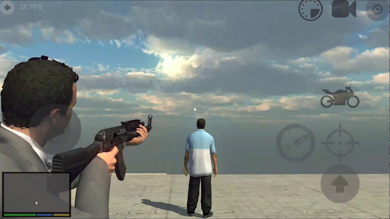 GTA 5 mobile gameplay - YouTube