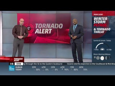 2/24/16 Tornado Coverage - The Weather Channel