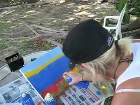 BIRGS Street art Cayman
