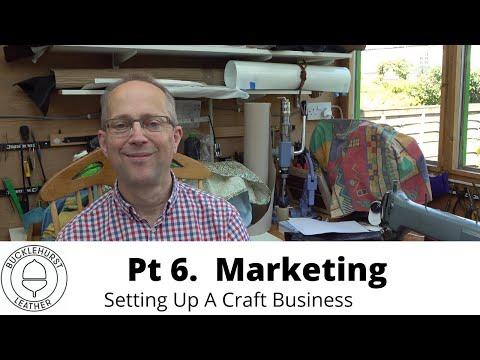 P6. Setting Up A Craft Business…Marketing