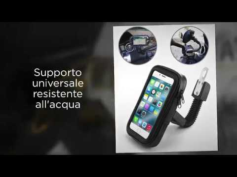 CUSTODIA PORTA CELLULARE SMARTPHONE GIVI PER MOTO IPHONE 7-6