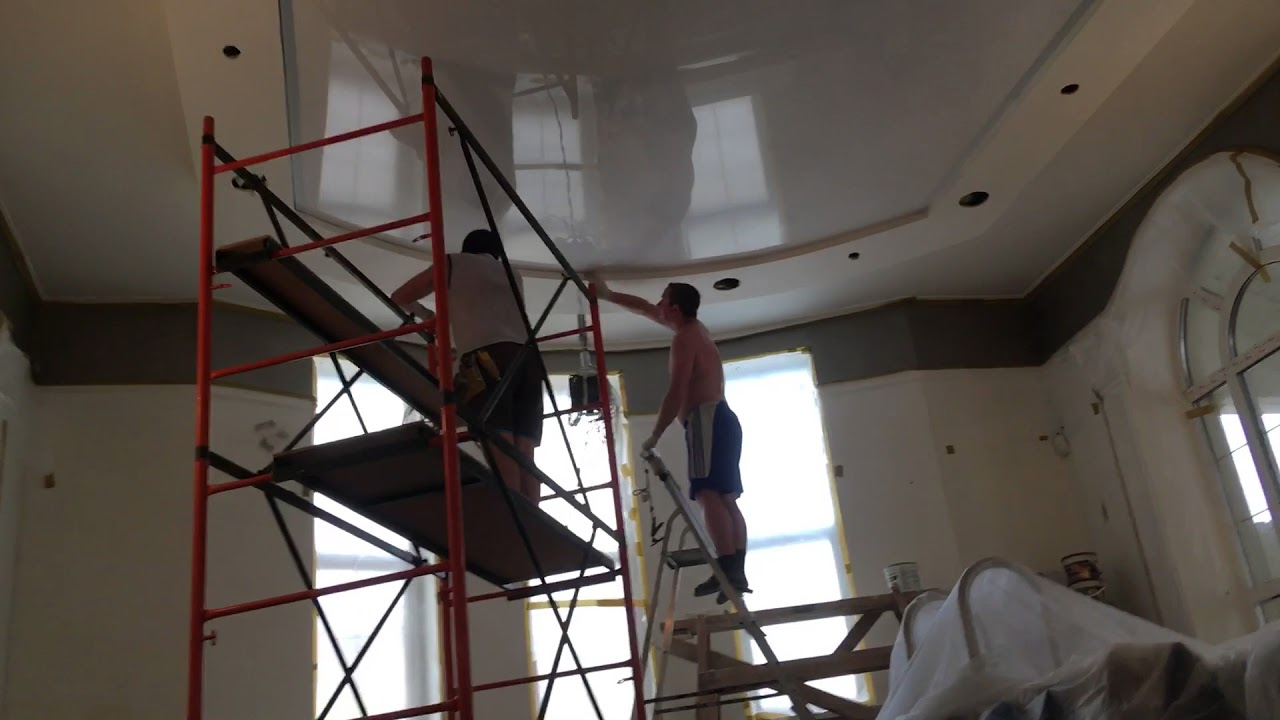 картинки строительных бригад по натяжным потолкам