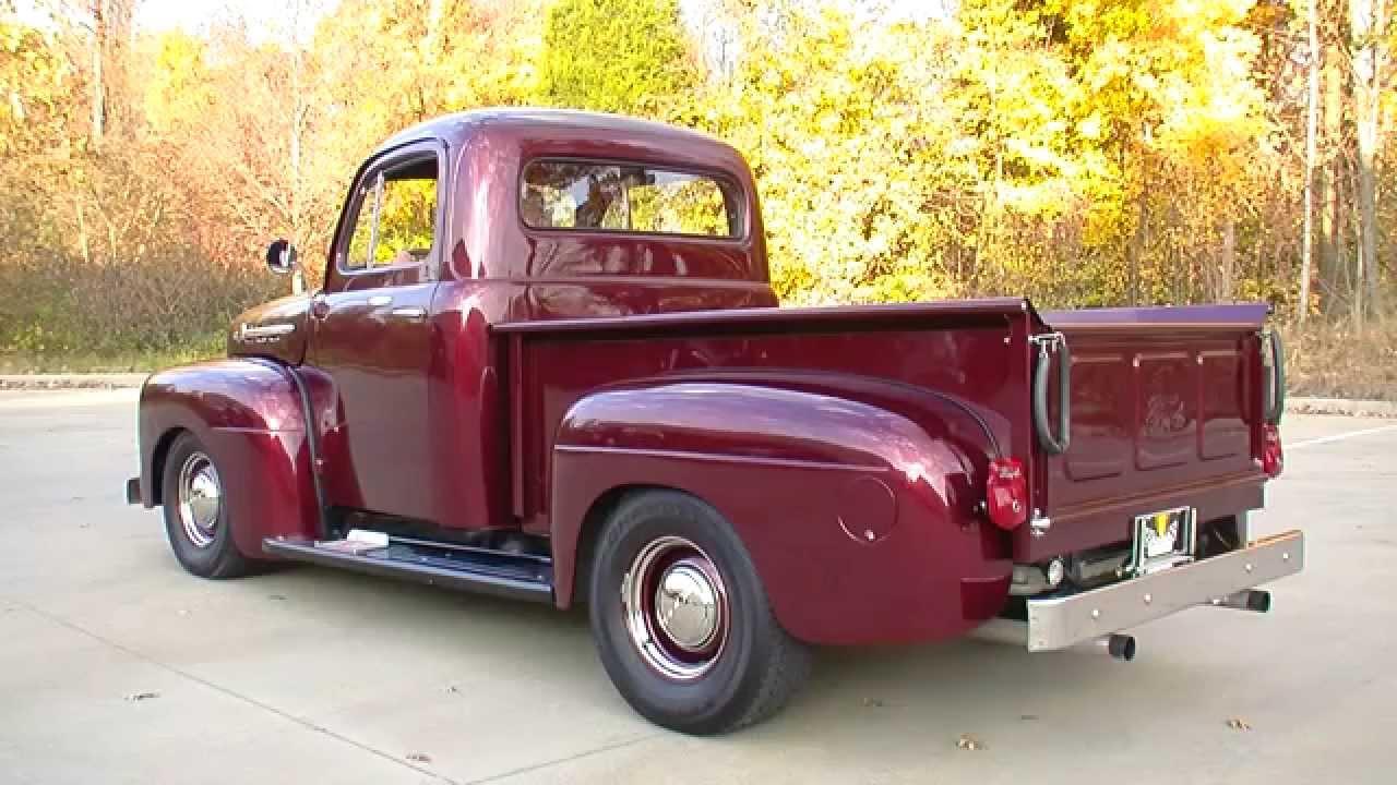 134919 1952 ford f1 pickup truck [ 1280 x 720 Pixel ]