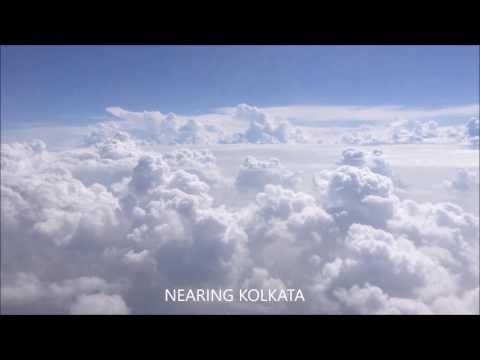 Bangalore to Kolkata in Air India.