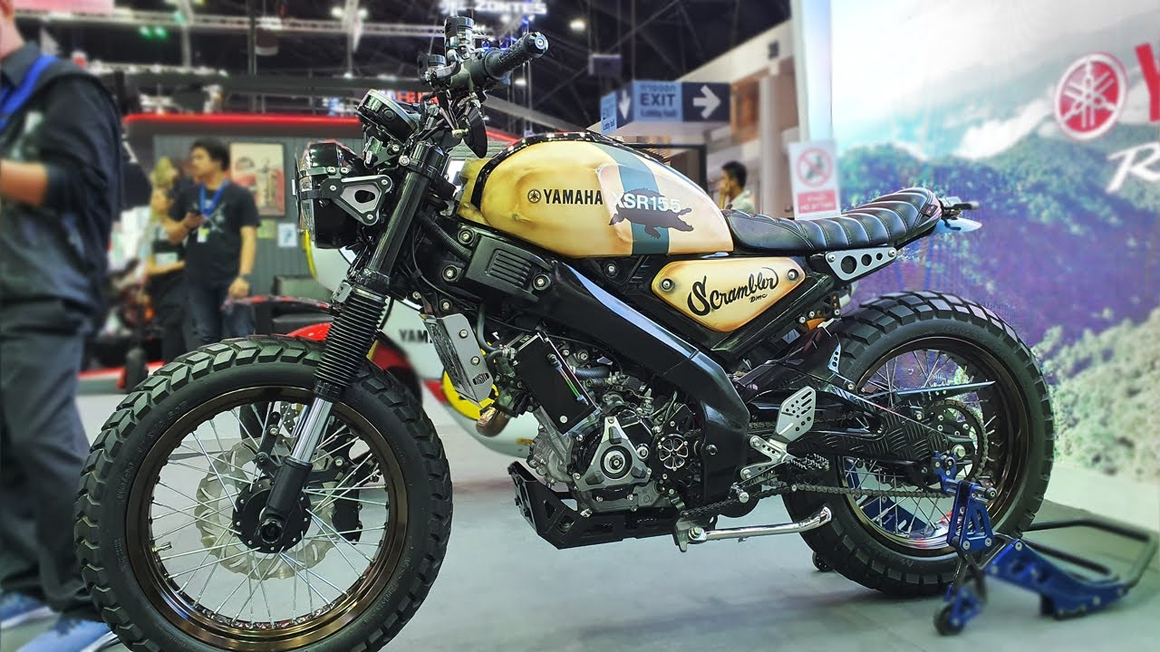 Yamaha Xsr155 Scrambler Custom 2019