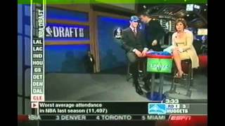 Darko milicic 2003 nba draft highlights