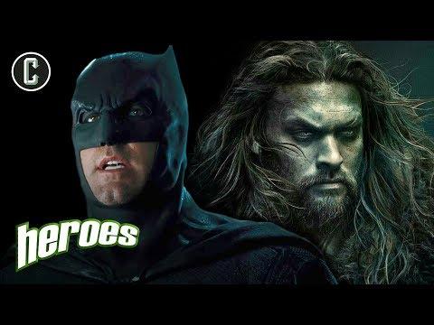 Justice League: Post Credit Scene In, Affleck