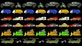 Vehicle Patterns 2 - ABAB - Street, Emergency, Military - The Kids