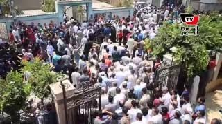 الألاف يشيعون جنازة الشهيد «محمد سرحان» بقرية كوم الدربي بالدقهلية