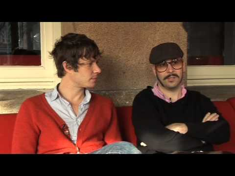 OK Go interview - Damian Kulash and Tim Nordwind (part 1)