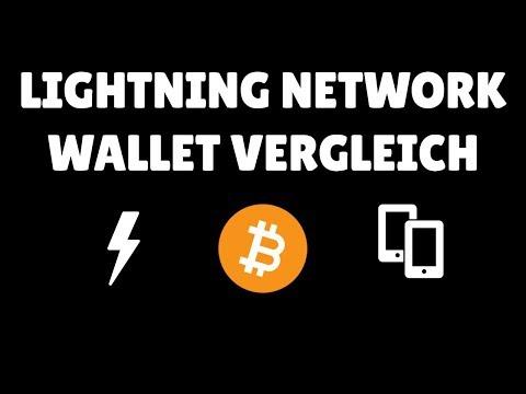 Bitcoin (BTC) Lightning Network Wallet Vergleich - sind wir schon da?