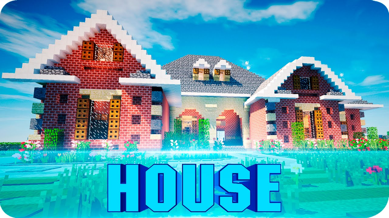 Minecraft beautiful suburban house walktrough map w House map online free