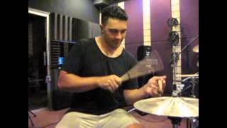 Music Malaysia - Dylan Elise Live In Guitar Empire: Mr. Hi-Hat hi-hat solo)
