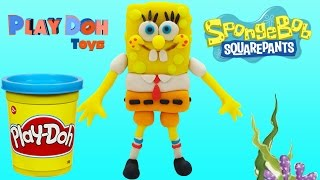 Play Doh Toys | Play doh Stop Motion Spongebob Squarepants | Play Doh Learn Colours