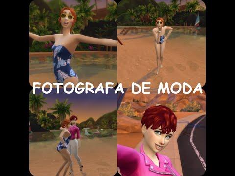 LOS SIMS4 TRABAJO DE MODA DE FOTOGRAFIA ME ENCANTA  1 EPISIDIO