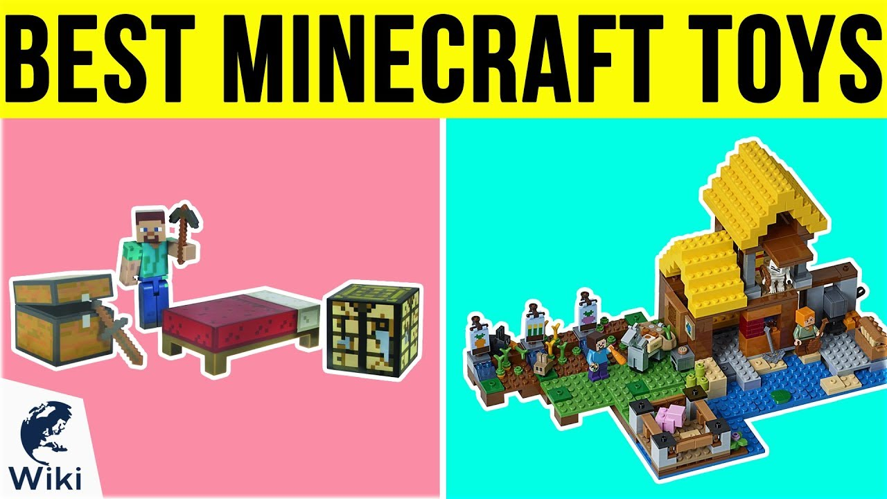 10 Best Minecraft Toys 10