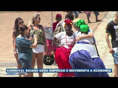 Carnaval de Salvador gera emprego e movimenta a economia