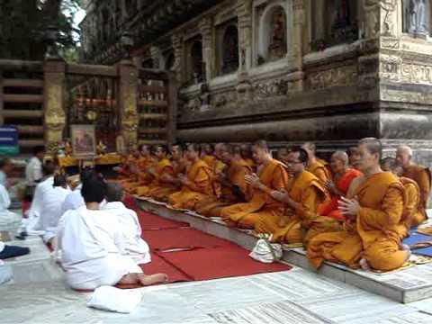 Bodh Gaya - Bodhi Tree.wmv