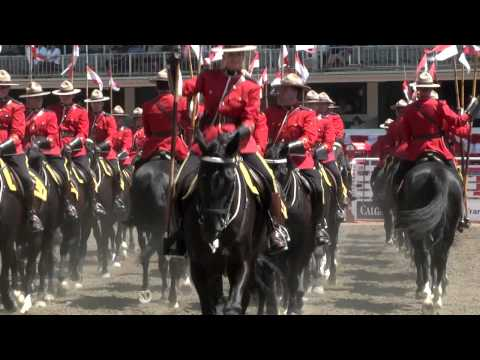 RCMP Musical Ride - Calgary Stampede 2014