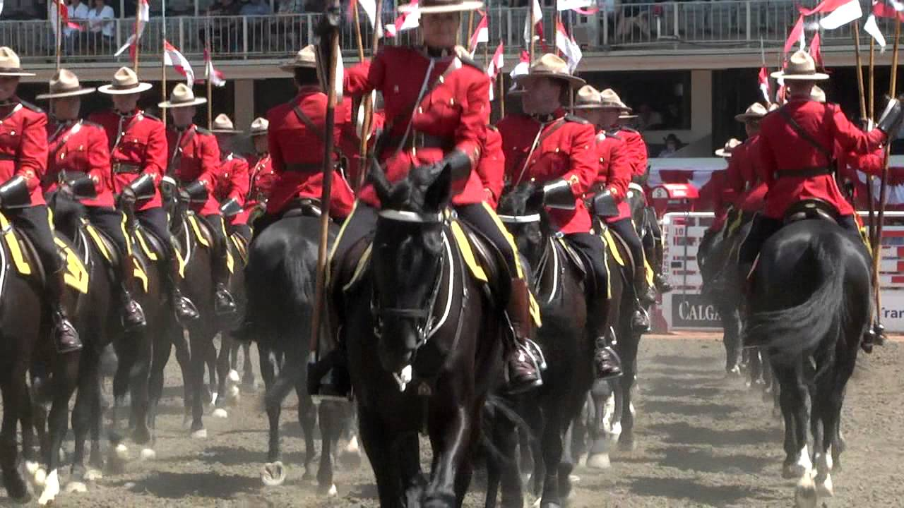Rcmp Musical Ride Calgary Stampede 2014 Youtube