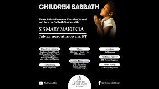 Northview SDA children sabbath 25TH  JULY 2020