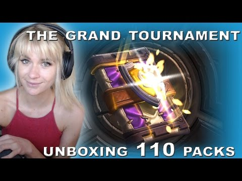 [Hearthstone] Pack Opening The Grand Tournament TGT