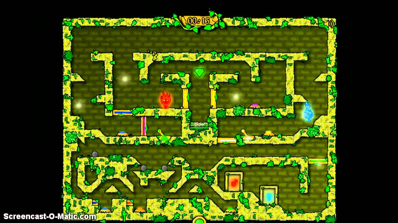 CoolMath Games FireBoy Amp WaterGirl In The Forest Temple W Kamon Part 9 THE FINAL EPISODE YouTube