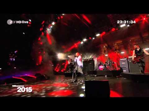 "Tokio Hotel ""Feel it all"" Silvester 2014 live vom Brandenburger Tor in Berlin"