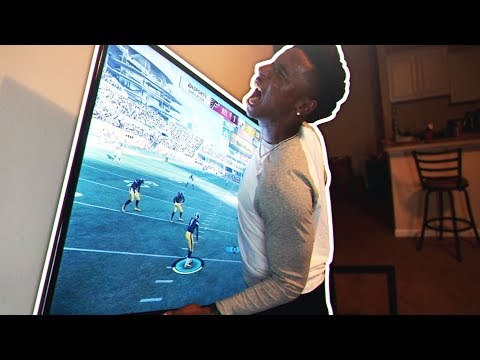 THE WORST MADDEN PLAYER EVER! (RAGED AFTER LOSING $1000)