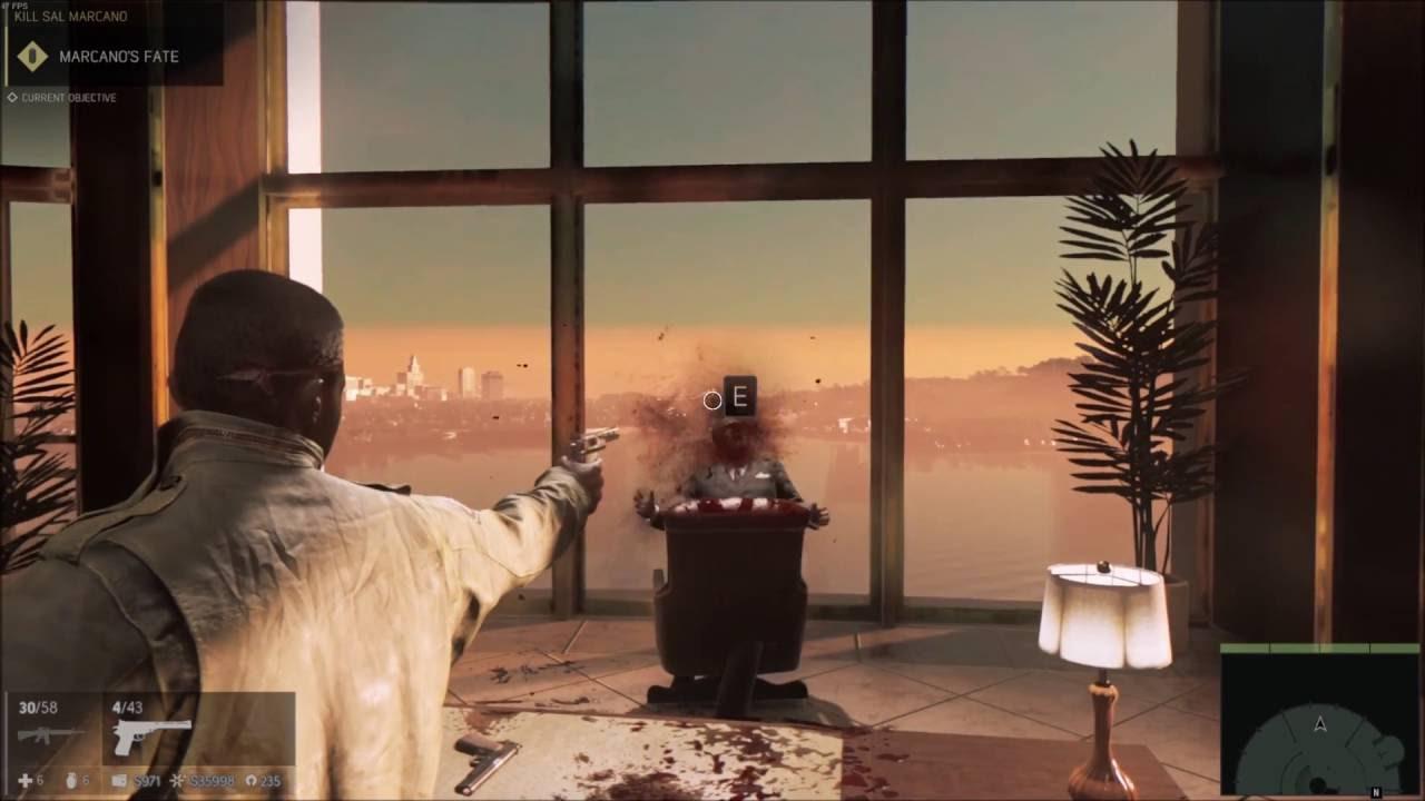 ps4 mafia 3 how to kill bosses