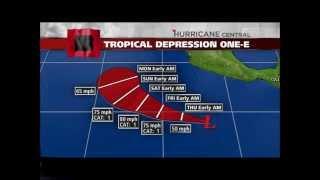 Tropical Depression one-e