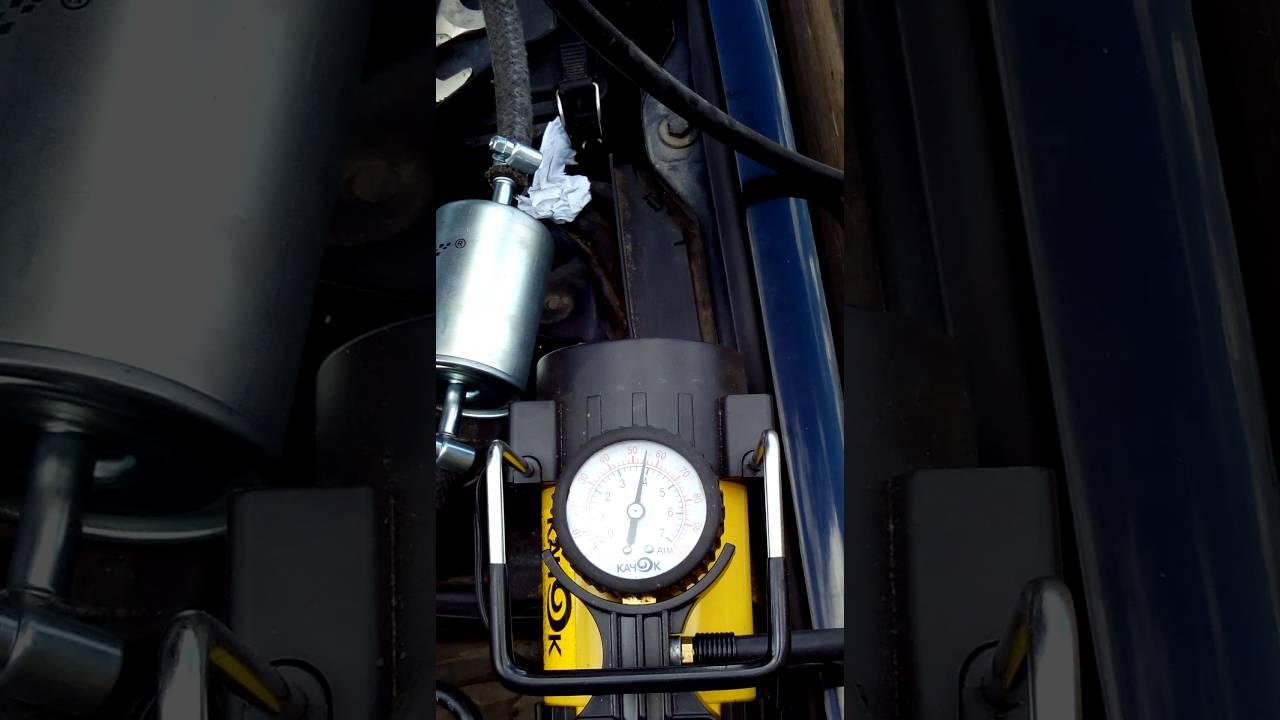 чистка форсунок мерседес 180 компрессор