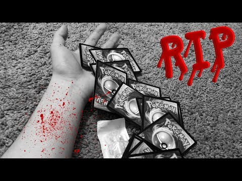 THE DAY I ALMOST DIED FOR POKEMON CARDS...