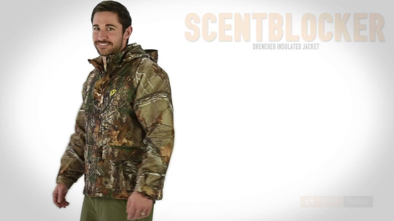 1117f5a0b525f Scentblocker Drencher Jacket - Waterproof, Insulated (For Men) - YouTube