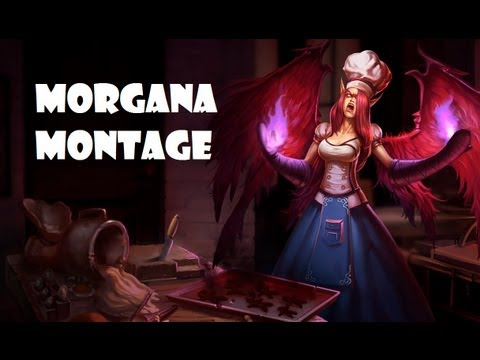 Morgana Montage Of League Of Legends - YouTube