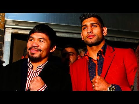 MANNY PACQUIAO VS AMIR KHAN SHOULD HAPPEN NEXT