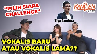 DODHY KANGEN LEBIH PILIH VOKALIS LAMA?! - 'Pilih Siapa' Challenge Kangen Band