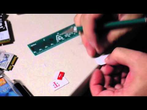 Make a Micro SIM Card Adapter