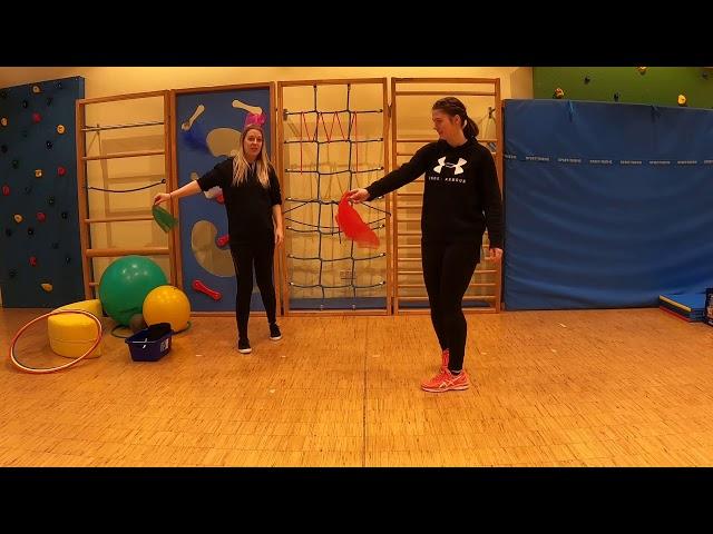 Eltern-Kind-Turnen Teil 5 mit Lilli und Jasmin